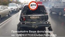 ДТП с пострадавшими в Киеве, Воздухофлотский проспект. 03.11.2017