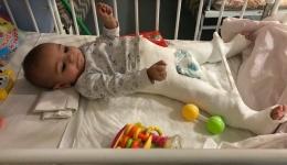 Друзья, к нам обратились десятки людей, желающих помочь Соне из Днепра, которую искалечила родная мать. 11.02.2018