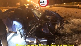 Серьёзное ДТП с пострадавшими в Киеве на Столичном шоссе, в направлении Южного моста. 11.02.2018