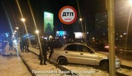 ДТП в Киеве на Индустриальном мосту. 12.12.2017