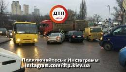ДТП в Киеве на проспекте Науки. 12.12.2017