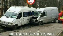 ДТП с пострадавшими в Киеве на ул. Вернадського. 05.11.2017