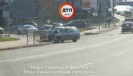 Киев. Бульвар Дружбы Народов ДТП. 09.04.2018
