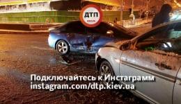 ДТП в Киеве на пересечении улиц Крещатик и Б. Хмельницкого. 10.12.2017