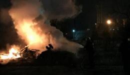 Внаслідок падіння гелікоптера у Кременчуці загинуло четверо людей. 26.01.2018