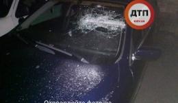 Ночное ЧП в Киеве на Радужной: неизвестные с дракой и стрельбой похитили водителя БМВ.