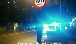 ДТП с пострадавшими в Киеве, ул. Бережанская. 15.10.2017г.