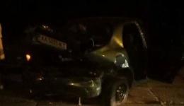 Ночное ДТП с пострадавшими в Киеве на ул. Е.Телиги.ФОТО