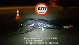 Смертельное ДТП в Киеве на Лобановского: девушка на Пежо сбила пешехода-нарушителя. ФОТО