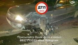 Пьяное ДТП на пересечении улиц Дегтяревская и Оранжерейная. 24.01.2018