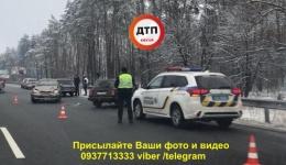 ДТП под Киевом, с. Иванковичи возле «Батьківська хата». 12.02.2018