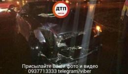 Два ДТП в Киеве, на пересечении улиц Генерала Наумова и Бахмачской. 14.10.2017