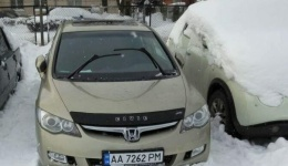 Угнан автомобиль Honda Civic 2007г. 10.04.2018