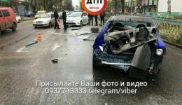 ДТП с пострадавшими в Киеве на Леси Украинки, 16. 05.11.2017